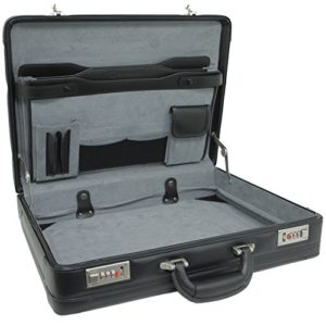 Alpine Swiss Genuine Leather Briefcase