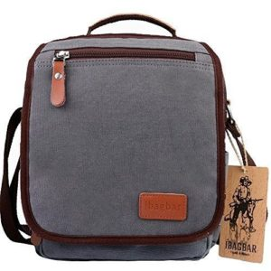 Ibagbar canvas shoulder bag blue