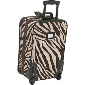 Rockland 2 piece luggage set back