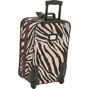 Rockland 2 piece luggage set back