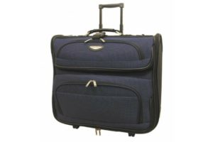 Rolling Garment Bag Blue