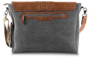 Vetelli laptop shoulder bag back