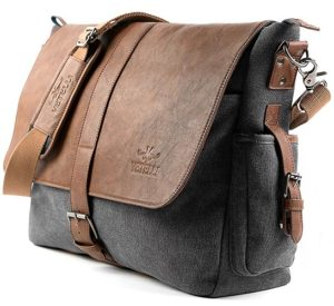 Vetelli laptop shoulder bag corner