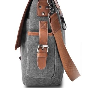 Vetelli laptop shoulder bag side