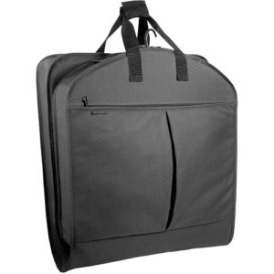 wallybags garment bag black