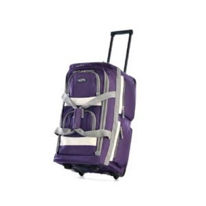 Olympia 22 inch duffel bag purple